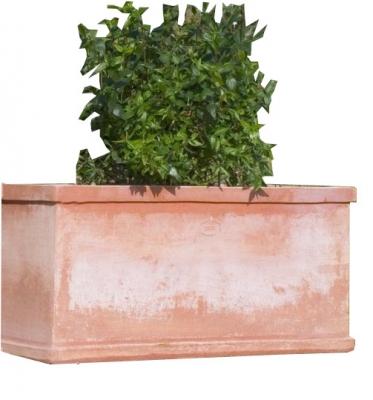 Cassetta grnd. liscia - Große Terrakotta-Kasten