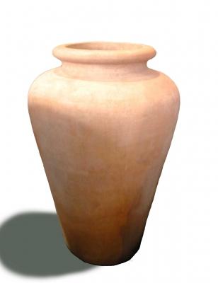 Anfora bombata senza manici - Terracotta-Amphore ohne Henkel