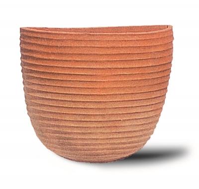 Tasca Rigata - Gerippte Vase
