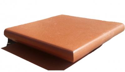 Stratos - Terracotta-Eckstufe