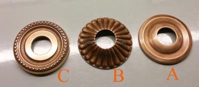 Messing-Rosetten für Wasserhähne
