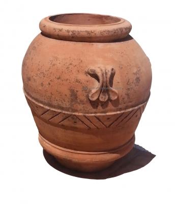 Orci - Terracotta-Ölfass