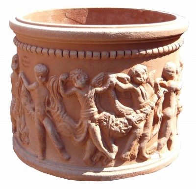 Cilindro putti - Zylinder mit Putten