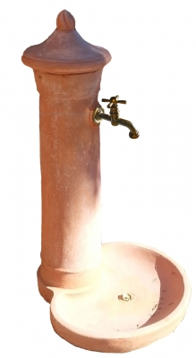 Fontanella - Terracotta Wasserzapfstelle