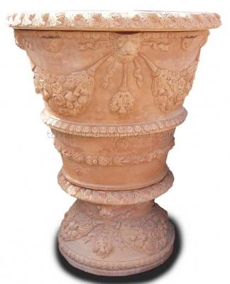 Vaso ornato 100 - Vase mit Ornament