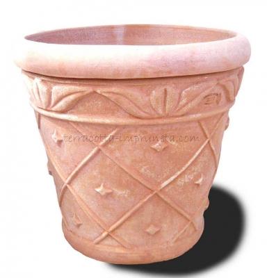 Vaso ananas - Vase mit Ananas-Dekor