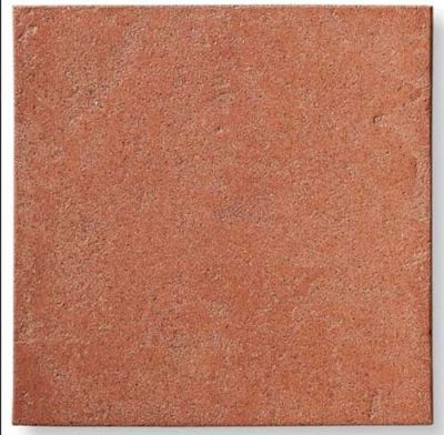Cotto nobile - Quadratische Terracotta-Fliese