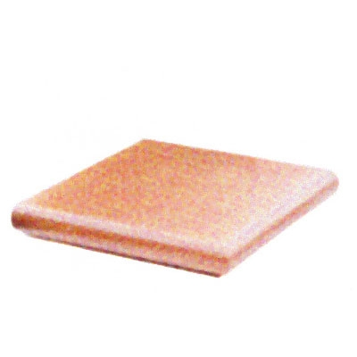 Cotto levigato - Terracotta-Eckstufe