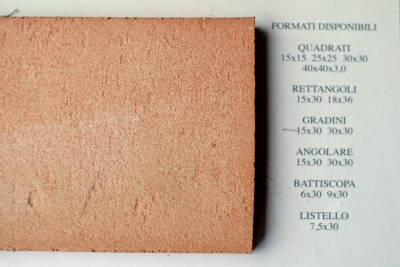 Bosco naturale - Quadratische Terracotta-Fliese