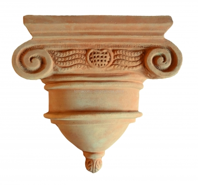 Capitello da parete - Terracotta-Kapitell