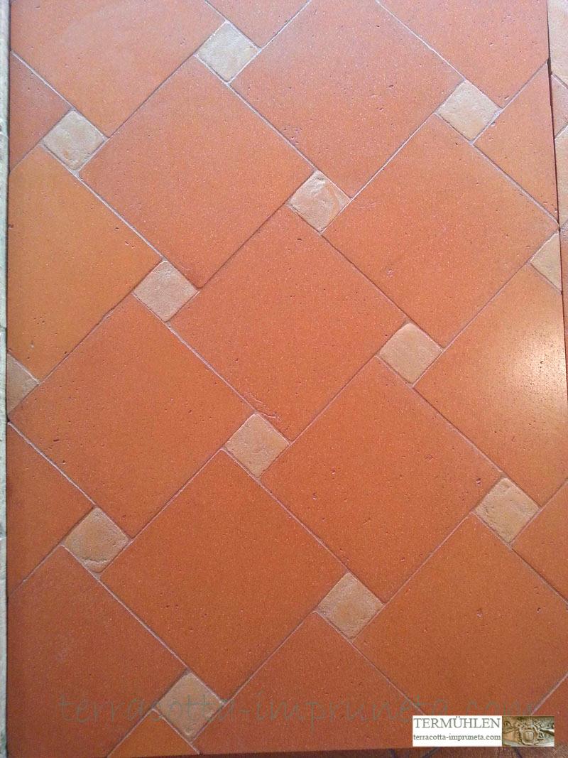 Termuhlen Terracotta Impruneta Terracotta Fliese Antik