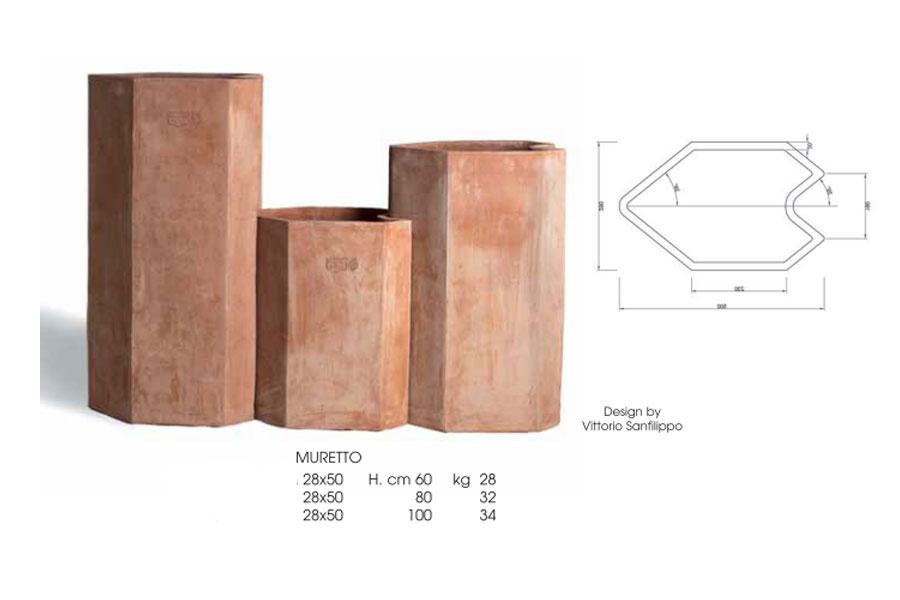 sichtschutz halbrund, termühlen terracotta impruneta_ terracotta-sichtschutz-elemente, Design ideen