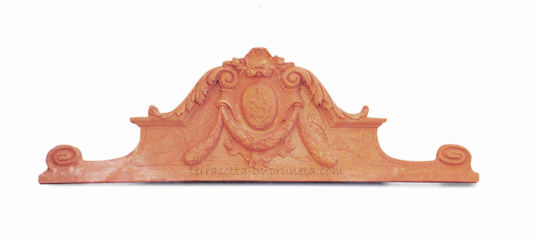 term hlen terracotta impruneta terracotta wandbild gro f r die t r. Black Bedroom Furniture Sets. Home Design Ideas
